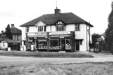 Strood Green has had a shop for 100 years