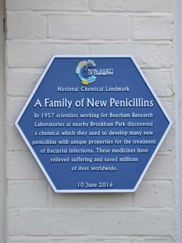 Beechams Plaque