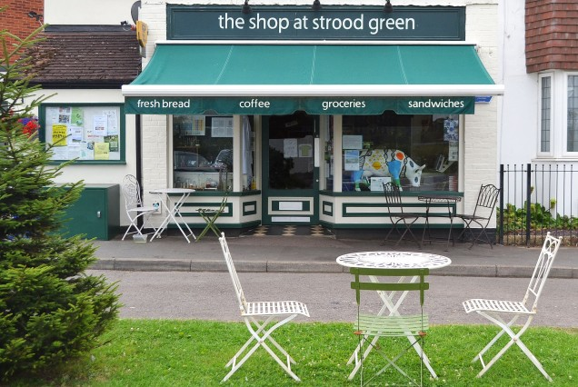 Our Green by the Shop Front