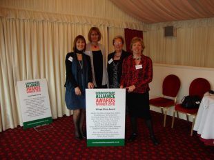 Collecting Our 2010 Countryside Alliance Award