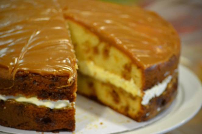 Locally Made Toffee Sponge